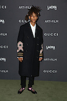 LOS ANGELES, CA - OCTOBER 29: Jaden Smith attends the 2016 LACMA Art + Film Gala honoring Robert Irwin and Kathryn Bigelow presented by Gucci at LACMA on October 29, 2016 in Los Angeles, California. (Credit: Parisa Afsahi/MediaPunch).