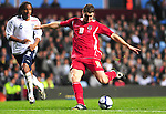 Wales Adam Lallana gets a shot away. England U21 V Wales U21, Uefa European U21 Championship qualifying play-off second leg © Ian Cook IJC Photography iancook@ijcphotography.co.uk www.ijcphotography.co.ukUnholy Alliance Tour 2008,