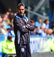 Huddersfield Town manager David Wagner in his technical area<br /> <br /> Photographer Andrew Vaughan/CameraSport<br /> <br /> The EFL Sky Bet Championship Play-Off Semi Final First Leg - Huddersfield Town v Sheffield Wednesday - Saturday 13th May 2017 - The John Smith's Stadium - Huddersfield<br /> <br /> World Copyright &copy; 2017 CameraSport. All rights reserved. 43 Linden Ave. Countesthorpe. Leicester. England. LE8 5PG - Tel: +44 (0) 116 277 4147 - admin@camerasport.com - www.camerasport.com