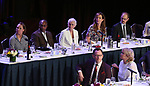 Laurie Metcalf, Joe Morton, Glenn Close, Allison Janney, David Hyde Pierce, Michael Emerson and Christine Ebersole on stage at the 83rd Annual Drama League Awards Ceremony  at Marriott Marquis Times Square on May 19, 2017 in New York City.