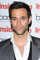 Rik Makarem arriving for the Inside Soap Awards Launch Party at Rosso Restaurant, Manchester. 09/07/2012 Picture by: Steve Vas / Featureflash
