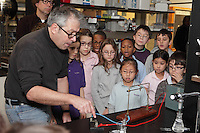 New York University outreach program to introduce 3rd, 4th, and 5th grade students to science in the physics and chemistry departments. Prof. David Grier