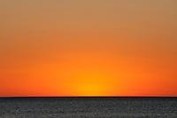 Ocean sunset afterglow, South Australia.