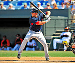 14 March 2009: Boston Red Sox' designated hitter Lars Anderson in action during a Spring Training game against the Baltimore Orioles at Fort Lauderdale Stadium in Fort Lauderdale, Florida. The Orioles defeated the Red Sox 9-8 in the Grapefruit League matchup. Mandatory Photo Credit: Ed Wolfstein Photo