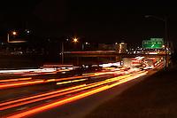 Evening Austin traffic on I-35