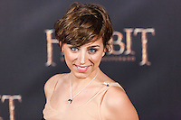 "Nausicaa Bonnin attends ""The Hobbit: An Unexpected Journey"" premiere at the Callao cinema- Madrid."