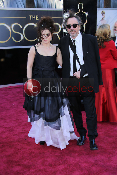 Helena Bonham Carter, Tim Burton<br />