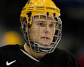 RJ Anderson (Minnesota 6) takes part in the Gophers' morning skate at the Xcel Energy Center in St. Paul, Minnesota, on Friday, October 12, 2007, during the Ice Breaker Invitational.