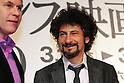 March 18, 2010 - Tokyo, Japan - Actor Alexei Guskov (L) and director Radu Mihaileanu (R) attend the French Film Festival 2010 Opening Ceremony at Roppongi Hills on March 18, 2010 in Tokyo, Japan. (Laurent Benchana/Nippon News).