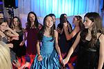 Maddy celebrates her Bat Mitzvah on the dance floor.
