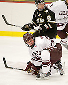Cody Omilusik (Army - 6), Chris Wagner (Colgate - 23) - The host Colgate University Raiders defeated the Army Black Knights 3-1 in the first Cape Cod Classic on Saturday, October 9, 2010, at the Hyannis Youth and Community Center in Hyannis, MA.