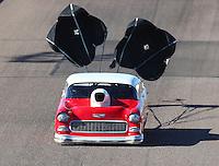 Feb 24, 2017; Chandler, AZ, USA; NHRA top sportsman driver John Taylor Jr during qualifying for the Arizona Nationals at Wild Horse Pass Motorsports Park. Mandatory Credit: Mark J. Rebilas-USA TODAY Sports
