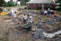 1994 September 22..Conservation.Ballentine Place..NRHA HABITAT HOUSE.CONSTRUCTION PROGRESS...NEG#.NRHA#..