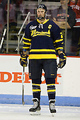 Adam Ross (Merrimack - 26) - The visiting Merrimack College Warriors tied the Boston University Terriers 1-1 on Friday, November 12, 2010, at Agganis Arena in Boston, Massachusetts.