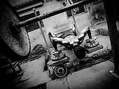 India - Varanasi - Body Builder