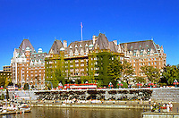 Victoria: Empress Hotel, 1908. Francis Rattenbury.  Photo '88.