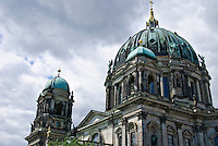 The Berliner Dom or Berlin Cathedral is  located on Museum Island in the Mitte area of Berlin, Germany.