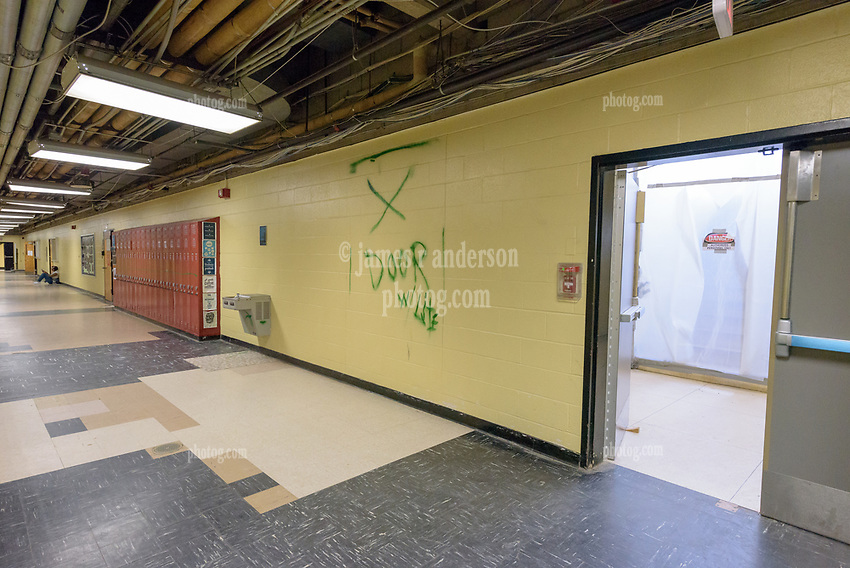 Central High School Bridgeport CT Expansion & Renovate as New. State of CT Project # 015-0174. One of 80 Photographs of Progress Submission 26, 5 April 2017