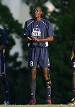 2 September 2007: Old Dominion's Yomby William (CMR) (8). The University of North Carolina Tar Heels tied the Old Dominion University Monarchs 1-1 at Fetzer Field in Chapel Hill, North Carolina in an NCAA Division I Men's Soccer game.