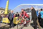Tony Martin (GER) Team Katusha Alpecin at sign on for the 115th edition of the Paris-Roubaix 2017 race running 257km Compiegne to Roubaix, France. 9th April 2017.<br /> Picture: Eoin Clarke | Cyclefile<br /> <br /> <br /> All photos usage must carry mandatory copyright credit (&copy; Cyclefile | Eoin Clarke)
