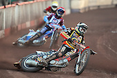Heat 9: Woffinden (tactical) and D Davidsson - Lakeside Hammers vs Wolverhampton Wolves - Sky Sports Elite League Speedway at Arena Essex Raceway, Purfleet - 24/05/10 - MANDATORY CREDIT: Gavin Ellis/TGSPHOTO - Self billing applies where appropriate - Tel: 0845 094 6026
