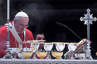 Pope Francis Mass for Cardinals who died during the year in St. Peter's Basilica. at the Vatican.November 3, 2014