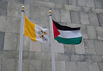 Two new flag added to United Nations family flags Vatican and Palestine