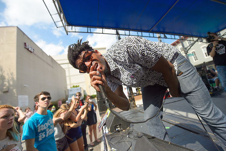 September 8, 2012. Raleigh, NC. Kooley High performs at the Raleigh Times day party as part of the 2012 Hopscotch Music Festival in Raleigh, NC.