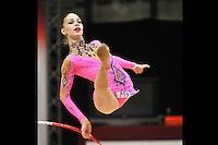 "February 7, 2014 - Tartu, Estonia - ANNA MAXIMOVA (1999 junior) from Kazakhstan performs at ""Miss Valentine 2014"" international tournament."