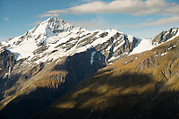 Mt. Aspiring, Tititea, Mt. Aspiring National Park, World Heritage Area, Central Otago, New Zealand