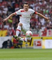 FUSSBALL   1. BUNDESLIGA  SAISON 2012/2013   3. Spieltag  15.09.2012 VfB Stuttgart - Fortuna Duesseldorf     Christian Gentner (VfB Stuttgart) am Ball