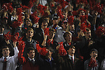 Ole Miss students vs. LSU at Vaught-Hemingway Stadium in Oxford, Miss. on Saturday, November 19, 2011.