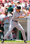 21 May 2006: Brandon Fahey, shortstop for the Baltimore Orioles, at bat during a game against the Washington Nationals at RFK Stadium in Washington, DC. The Nationals defeated the Orioles 3-1 to take 2 of 3 games in their first inter-league series...Mandatory Photo Credit: Ed Wolfstein Photo..