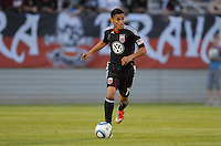 D.C. United midfielder Andy Najar (14) File photo RFK stadium 2011 season.