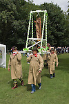 Dunmow Flitch Trial. Great Dunmow, Essex.  UK 2008. Procession of flitch of bacon to trial.