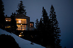 Richard Landry's Mammoth Lakes, CA vacation home, January 9, 2010.