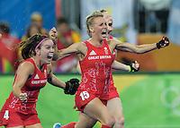 AUG 19 Team GB wins hockey gold medals