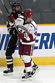 Jake Walman (PC - 19), Michael Floodstrand (Harvard - 44) - The Harvard University Crimson defeated the Providence College Friars 3-0 in their NCAA East regional semi-final on Friday, March 24, 2017, at Dunkin' Donuts Center in Providence, Rhode Island.
