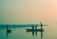 Ferry boat  in Delhi, India