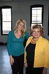 Actress Meredith Ostrom  and Barbara Ostrom & Associates' Barbara Ostrom Attends Mercedes-Benz New York Fashion Week Autumn/Winter 2013 - Catherine Malandrino Presentation Held at Center 548, NY 2/10/13