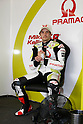 Apr 30, 2010 - Jerez, Spain  -  Pramac Green Energy Team's Mika Kallio takes a break in his box t Circuito de Jerez on April 30, 2010 in Jerez de la Frontera, Spain. (Photo Andrew Northcott/Nippon News).