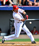 6 March 2011: Washington Nationals' outfielder Jayson Werth in action during a Spring Training game against the Atlanta Braves at Space Coast Stadium in Viera, Florida. The Braves shut out the Nationals 5-0 in Grapefruit League action. Mandatory Credit: Ed Wolfstein Photo