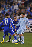 Jamie Smith #20. Ryan Smith #11, Jack Jewsbury...Kansas City Wizards defeated Colorado Rapids 1-0 at Community America Ballpark, Kansas City, Kansas.