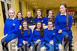 Pictured at the ISTA Science quiz at IT Tralee South Campus on Thursday were students from St Brigids Killarney were Rowan Collier, Aida Fleming, Ridona Sietee, Ellen Corridan, Elaina Norris, Ciara Ferris, Dawn Cronin, Orla Finn, Nicole McCarthy