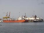 Muscat industrial port, Oman