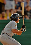 19 July 2012: Tri-City ValleyCats infielder Joe Sclafani in action against the Vermont Lake Monsters at Centennial Field in Burlington, Vermont. The ValleyCats defeated the Lake Monsters 6-3 in NY Penn League action. Mandatory Credit: Ed Wolfstein Photo