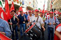 Roma, 22 Giugno 2013<br /> Lavoro &egrave; Democrazia. Manifestazione di CGIL, CISL e UIL<br /> Demonstration by trade unions in Rome