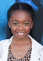 HOLLYWOOD, LOS ANGELES, CA, USA - MAY 28: Skai Jackson at the World Premiere Of Disney's 'Maleficent' held at the El Capitan Theatre on May 28, 2014 in Hollywood, Los Angeles, California, United States. (Photo by Xavier Collin/Celebrity Monitor)