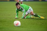 FUSSBALL   1. BUNDESLIGA   SAISON 2012/2013    22. SPIELTAG VfL Wolfsburg - FC Bayern Muenchen                       15.02.2013 Vierinha (VfL Wolfsburg) fixiert den Ball