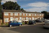 Terraced housing, Harrow, North West London.